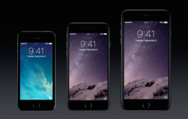 Apple confirms its next iPhone 6 and 6 Plus will come in two, bigger sizes: 4.7 inches and 5.5 inches diagonally. http://t.co/1hJAmcOha8