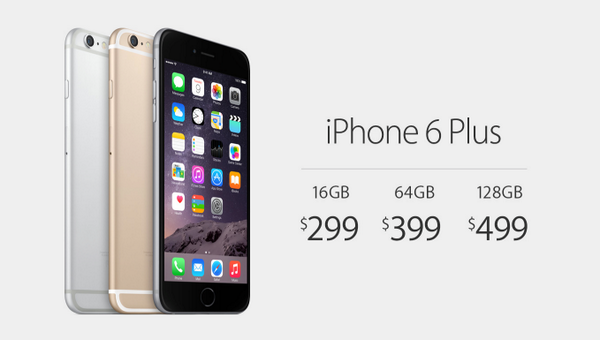 iPhone 6 plus price