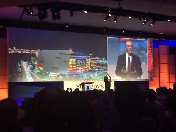 Pat Riley addressing 1,500 top @sothebysrealty agents from around the world. #GNE2014 http://t.co/hA4QMxdENQ
