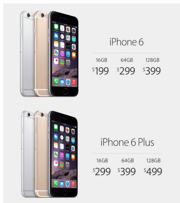 r e e m on twitter infos140 apple prix des iphone 6 et 6 plus avec abonnement usa http