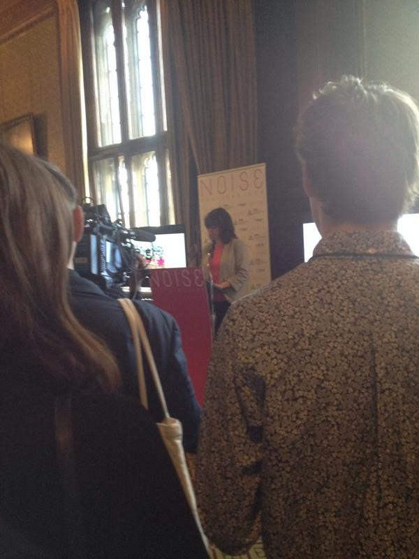 Opening speech from MP Lucy Powell #NOISEfest14 #houseofcommons http://t.co/668oODUKNO
