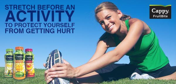 لمنع الإصابات تأكد من القيام بتمرينات الشد قبل التمرين #كابي