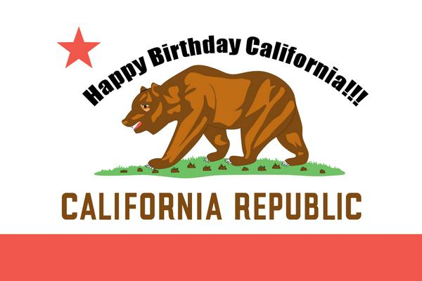 Image result for happy birthday california