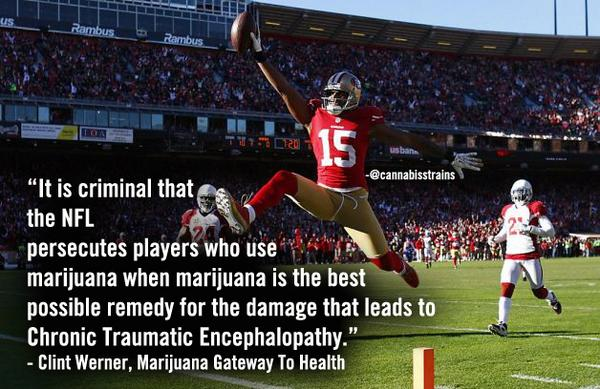 Vaporizing doesn't hurt your lungs. #Cannabinoids can help your #brain! #NFL #football #cannabis #medicine http://t.co/kj2b3BHJUC