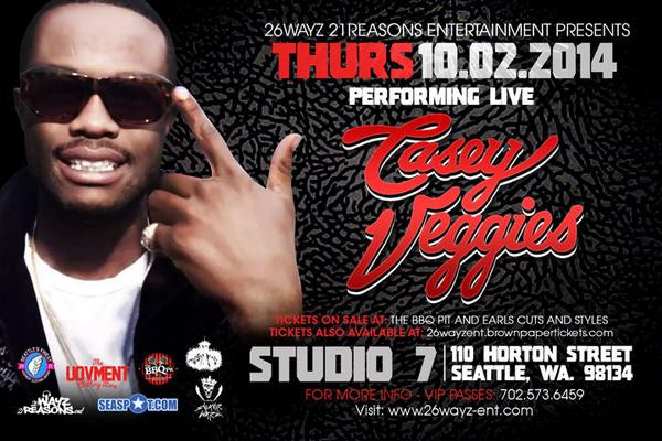 #Seattle Upcoming Shows **Sept. 18th** @theJacka & @Phillyfreezer  **Oct.2nd ** @CaseyVeggies @ Studio 7 http://t.co/kCdyANBcel