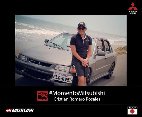 #MomentoMitsubishi: Cristian Romero nos compartió una foto de su #Mitsubishi Lancer 92 via cojimies pedernales. http://t.co/ap473Wgkgx