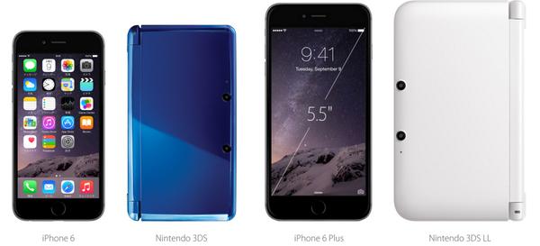 iPhone6の大きさわかりにくいから個人的にわかりやすいのと並べたけど…でっか。 pic.twitter.com/yEvNm7Ig5t