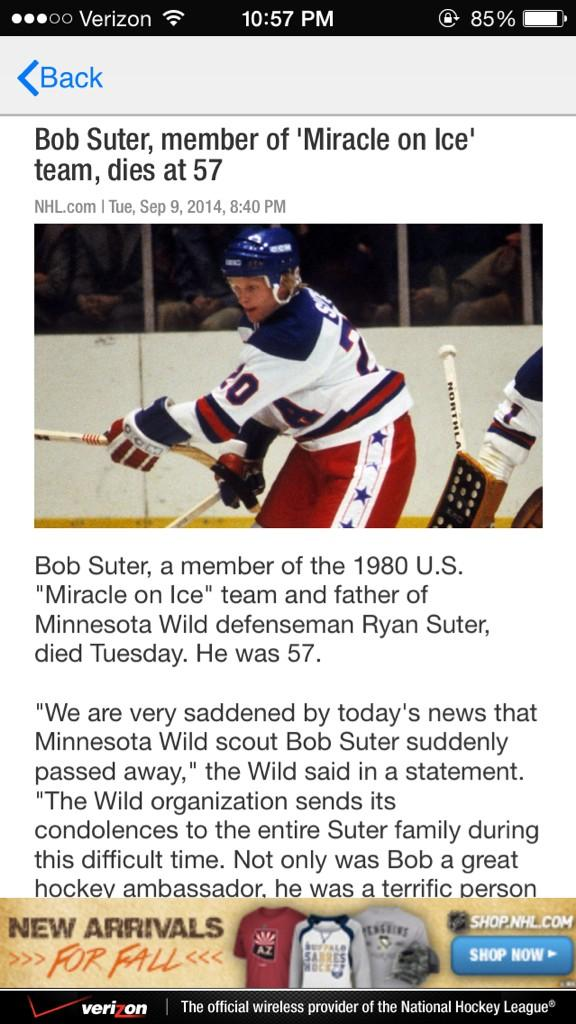 Condolences out to @rsuter20 http://t.co/Oaj6uvYShU