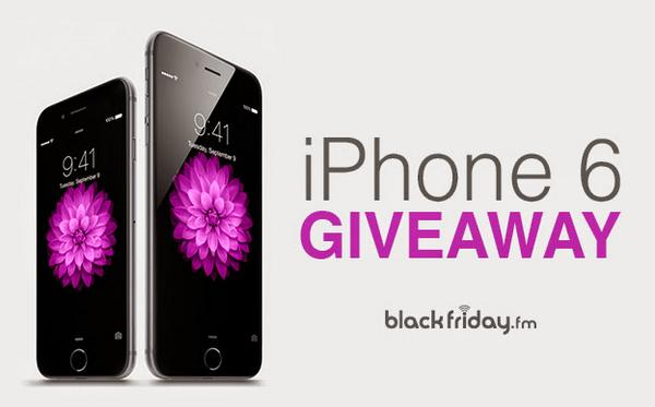 24-Hour Giveaway! Follow & RT to win Apple #iPhone6 from @blackfriday_fm   Enter to Win: http://t.co/99i13fbPbn http://t.co/Kzsw9oFz1S