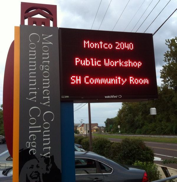 Time for the @MontCoPlanning public session at the @MontcoPA comprehensive plan @mccc in #Pottstown. @MercuryX http://t.co/v39xPj792i