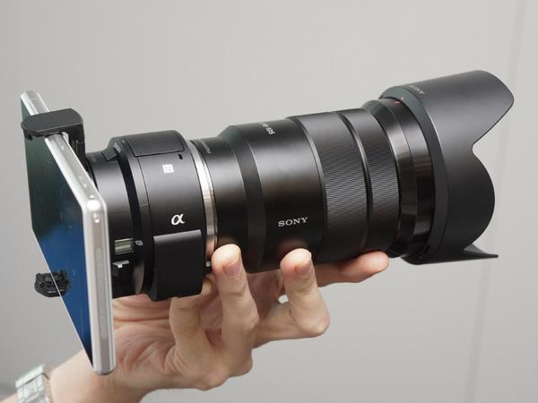 【人気記事】ソニー、スマホと連携するレンズ型デジカメに、APS-C&レンズ交換式の「QX1」 http://t.co/kxcOEsHyCd http://t.co/MbKfoo00P7