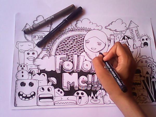 100 Gambar Doodle Nama Cantika HD Gratis