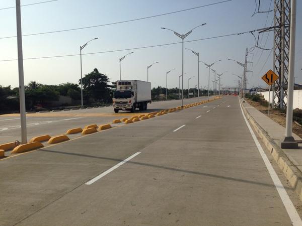 Cierre de vías por inauguración del Corredor Portuario