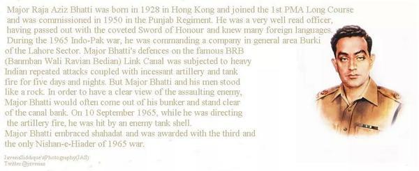 Major aziz bhatti shaheed essay