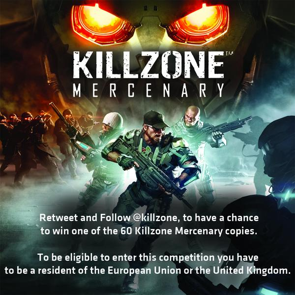 To celebrate Killzone Mercenary it's first anniversary we are gifting 60 (EU) copies of the game! http://t.co/UXSxRifjgu
