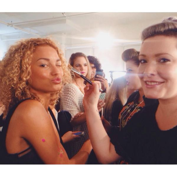 .@SteBertramRose is #backstage and ready for her #NYFW debut! Stay tuned to see which #runway she appears on ;) http://t.co/MTq28YP8zu