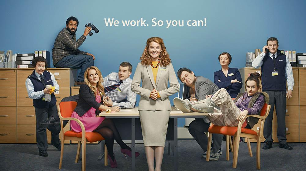 The Job lot, la nouvelle comédie d'ITV BxLdh2DCQAAePWE