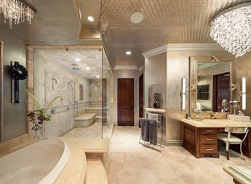 Billionaires On Twitter Huge Luxury Bathroom