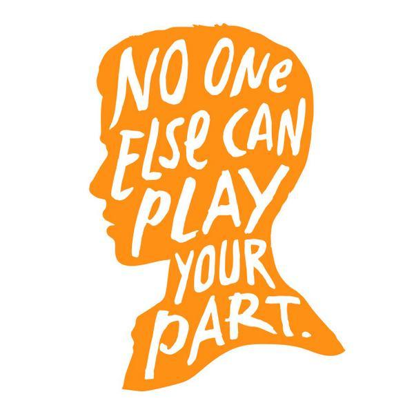 Today is World Suicide Prevention Day. No one else can play your part. #NoOneElse14 #WSPD14 http://t.co/NMjLREkrQR