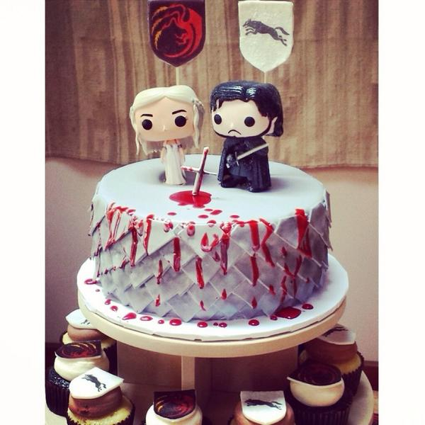 "Wedding Cake Games: Funko On Twitter: ""We Love This Game Of Thrones Wedding"