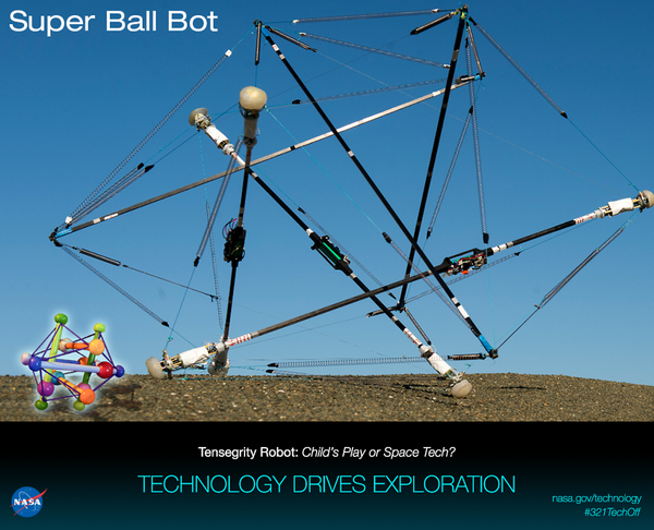 Super Ball Bot: inspired by a toy, a terrestrial robot for lower-cost & more reliable missions http://t.co/priziIDP5q http://t.co/AhGjzLqwQM