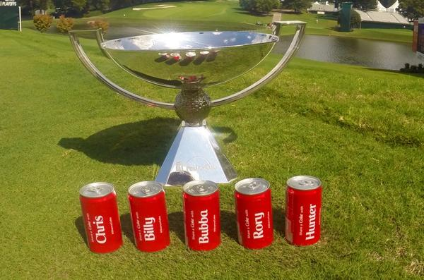 #shareacoke w/ a #FedExCup leader @Chris_Kirk_ @BillyHo_Golf @bubbawatson @McIlroyRory @HunterMahan @CocaCola http://t.co/YuwVH4gn4N