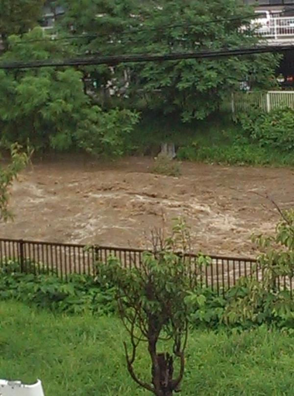 今の厚別川 http://t.co/zkhO4Mdq7K