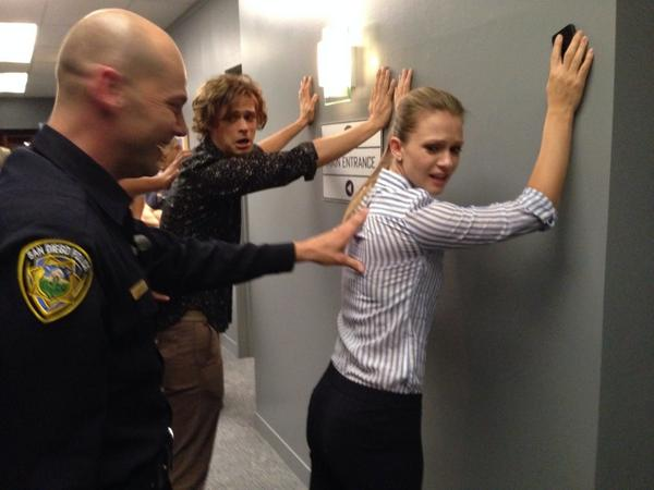 Caught red-handed! @GUBLERNATION @ajcookofficial What do you think they're in for? #criminalminds