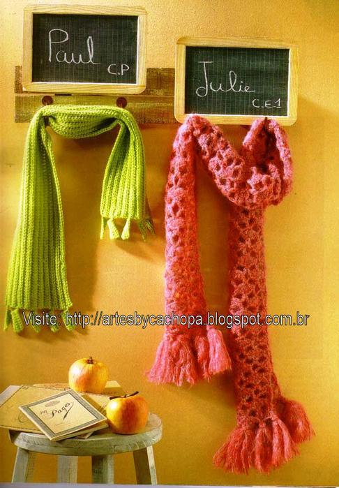 Схемы вязания шарф паутинка