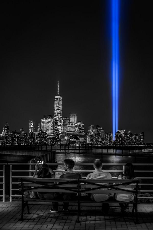 #NeverForget September 11th #TributeInLights @EverythingNYC http://t.co/kebcfF7lPx