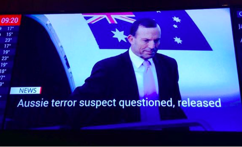 Well played Sky News, well played >> 'Picture of Aussie terror suspect questioned by police...'   #auspol http://t.co/A7k8QFNgpi