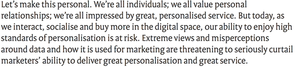 #Personalisation – Hanging in the balance http://t.co/MtiD6zJP9G /@JedMole Alex Hazell of @acxiom http://t.co/A6Maf2jNC7