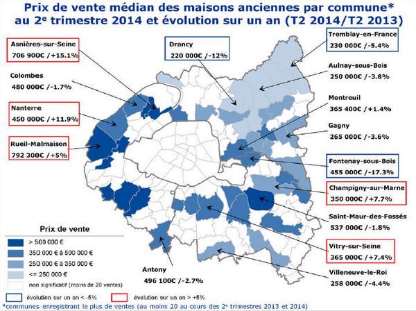 Notaires De Paris On Twitter Immobilier Notaire Carte Prix M2