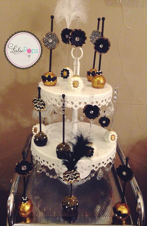 Lulupops By Lina On Twitter The Great Gatsby Cake Pops Httpt