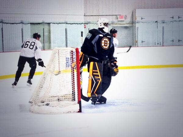 Boston Bruins On Twitter Malcolm Subban Rockin His New Pads Cs