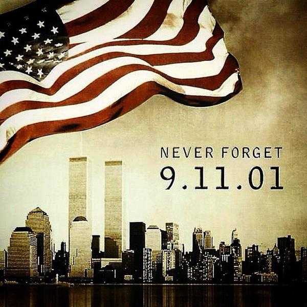 Remember the lives that were lost on 9.11.01 as well as those killed in action, fighting for our freedom #NeverForget http://t.co/j6R31hkxXn