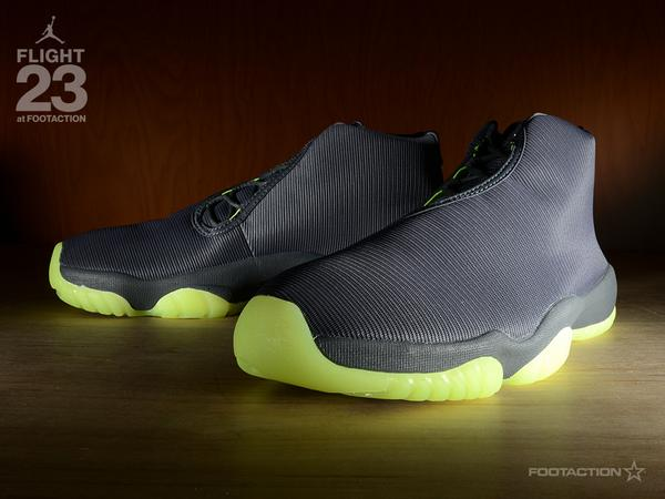 229515c6cec ... discount footaction on twitter a new dark grey volt colorway of the air  jordan future hit