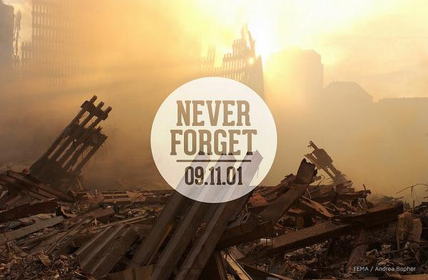 We will never forget the lives lost in the terrorist attacks on September 11, 2001 #USA #NeverForget http://t.co/UFoJZa9ZzS