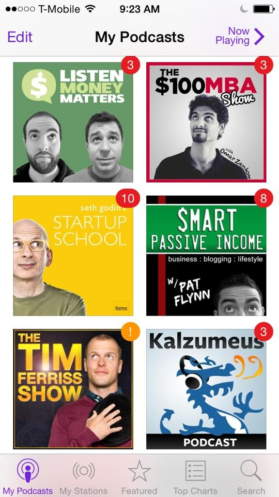 What are all of these podcasters looking up at? :) Thanks for the great content @ThisIsSethsBlog @tferriss @PatFlynn http://t.co/uKROIFcBae