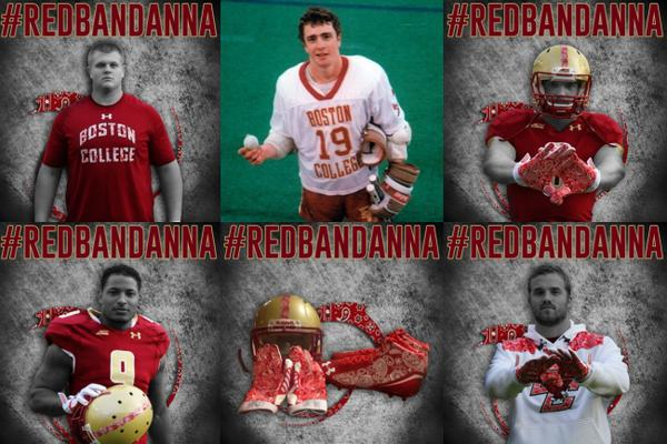 Great story #wellescrowther #redbandanna 9/11 hero @BCSportsNews #Lacrosse player  http://www. insidelacrosse.com/article/boston -college-honoring-9-11-hero-welles-crowther-with-red-bandanna-uniforms/29684   … <br>http://pic.twitter.com/kXwnFlbGcO