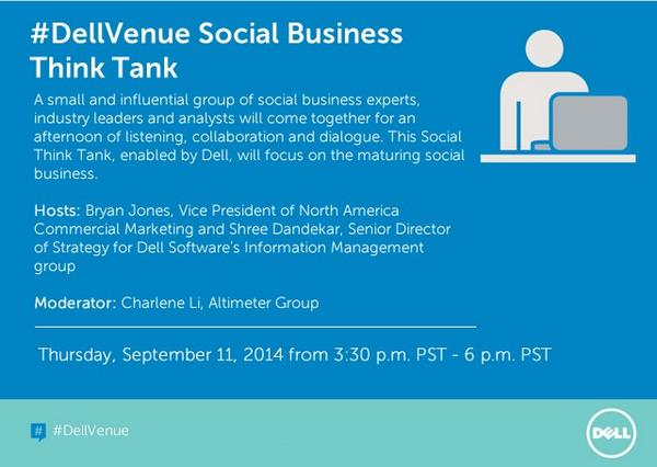 Thumbnail for #SocBiz Think Tank at #DellVenue