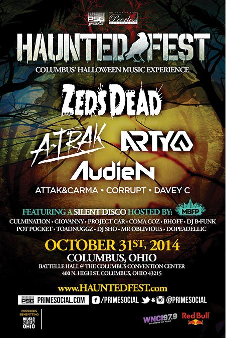 #Ohio Ticket Give Away #RETWEET for a chance to win a FREE ticket to #HauntedFest (winner announced Sunday) Lineup: http://t.co/Bb32dTL0EN