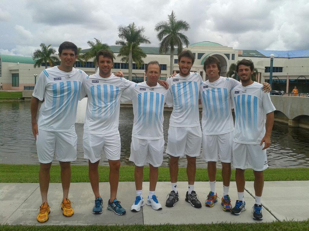 Equipo argentino vs Israel - AAT