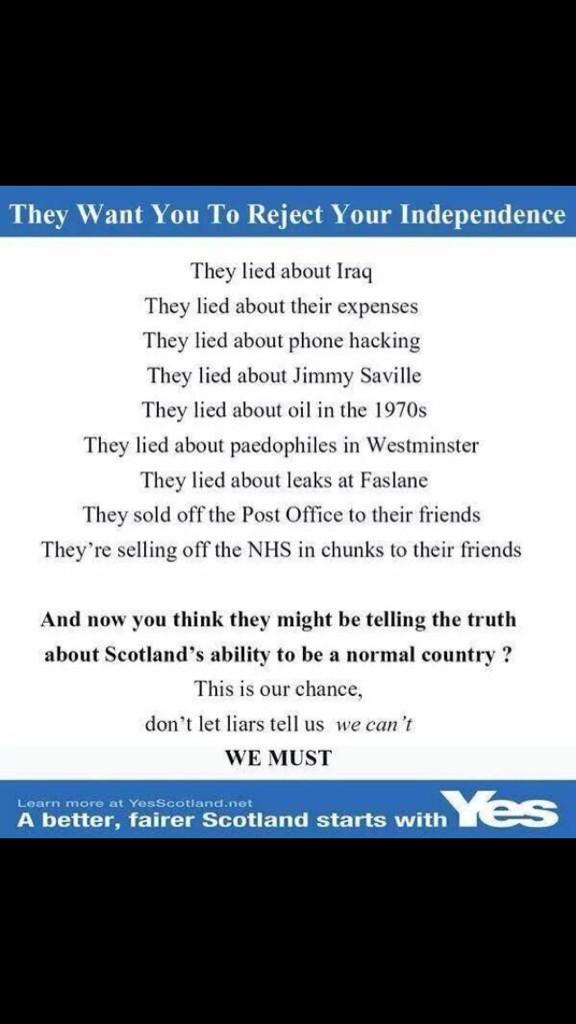 Read the lies no voters!! #truestoriesagain http://t.co/nlbLy1KuBl