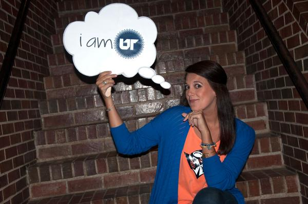 Devon Roundtree says #iamUT because I'm an alum, I'm an employee, and I'm working on my second UTM degree! http://t.co/IyFUZK1Rfg