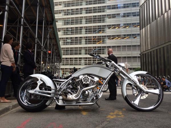 The 9/11 Memorial Bike. http://t.co/I2kQBPBueY