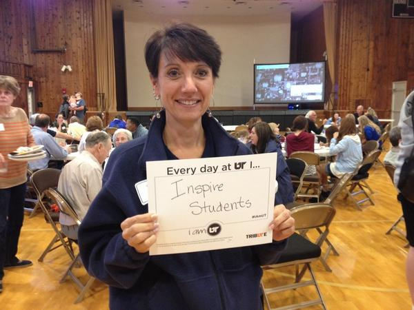 Dr. Janet Wilbert says #iamUT! http://t.co/X34zefgYSP