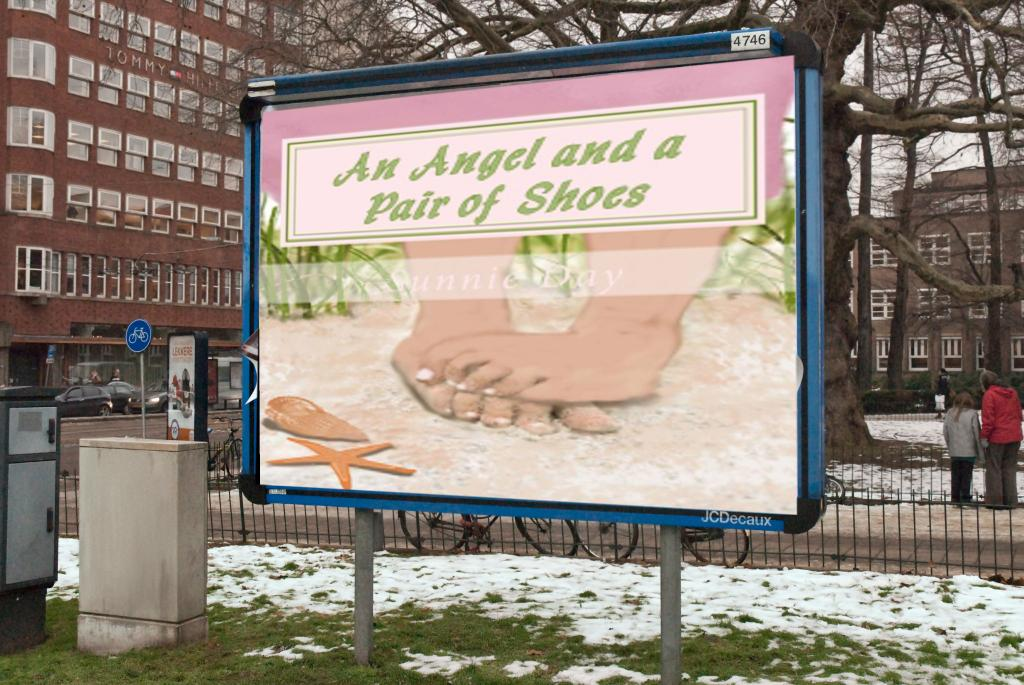 An Angel and a Pair of Shoes http://t.co/626VqfGOBD  In time for the holidays. Sunnie Day http://t.co/UNfjCLRWfa