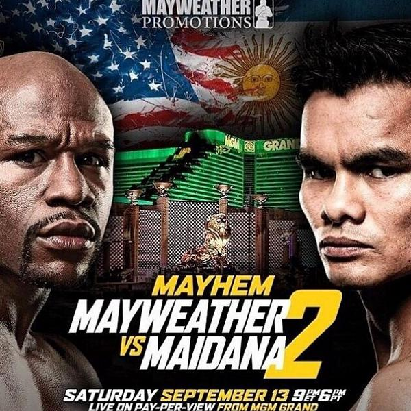 Tune in this Saturday @FloydMayweather vs @ChinoMaidana on SHOWTIME PPV  8pm ET/5pm PT. #FightAbility #MiteWannaHolla http://t.co/fFqOBQKAIi