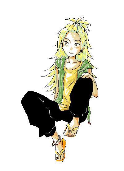 chikichekoのツイッターは[♂][188cm] [健康的な肌] [金色の髪、長髪、くせ毛] [ブラウン(濃褐色)の瞳、細い] [イメージカラー、パンプキン] です